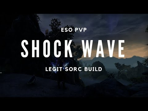 Shock Wave | Magicka Sorcerer Build - ESO Dragon Bones