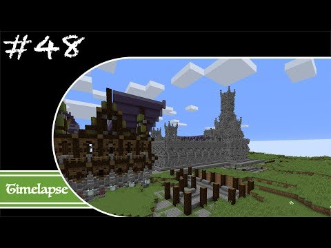 Minecraft Let's Build Timelapse - Fantasy - Week 48 - The Fort Completed