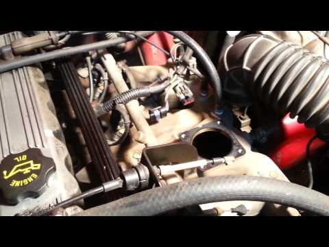 1994 Jeep Cherokee throttle body removal and replacement