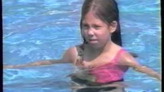 Sesame Street Letter E in the Pool