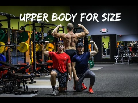Bodybuilding Upper Body Workout For SIZE
