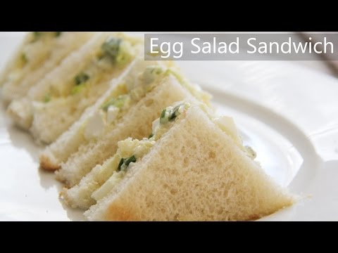 Egg Sandwich Recipe - egg salad sandwich recipe - Indian Healthy breakfast ideas and Egg recipes