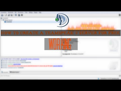 How to create a teamspeak 3 server for free !! [Working]