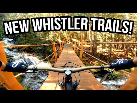 NEW Whistler Bike Park Trails - Creekside Opening Day 2018