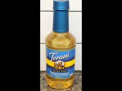 Torani: Sugar Free French Vanilla Flavoring Syrup Review