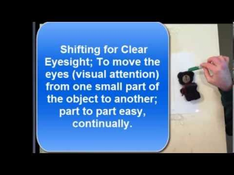 Shifting and Reading Fine Print For Clear Eyesight