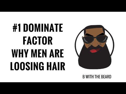 #1 DOMINATE FACTOR WHY BLACK MEN ARE LOOSING HAIR  | BALDING