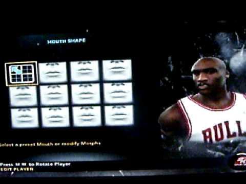 NBA 2k11 how to make Michael Jordan.