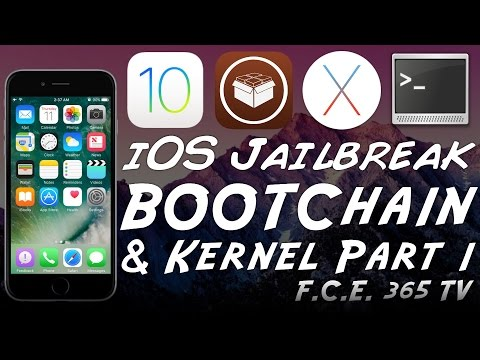 iOS 10 - How Jailbreak Works -  BootChain and Kernel Protection (Part 1)