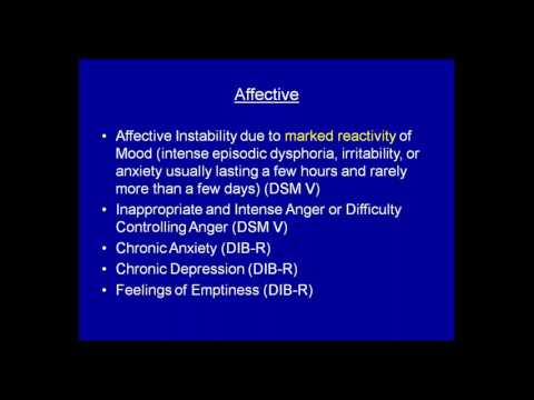 Borderline Personality Disorder: Diagnosis, Course, and Treatment - Meet the Scientist Webinar