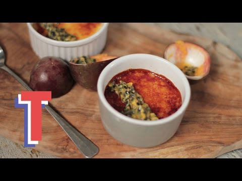 Passionfruit Crème Brulee | Feed My Friends 2