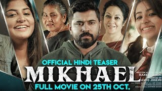 MIKHAEL (2019) Official Teaser | New Released Hindi Dubbed Movie | Releasing On 25th Oct.