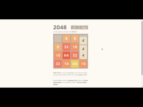 how to win 2048 game?