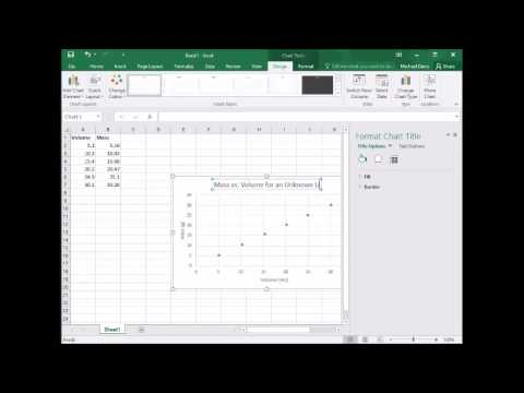 Making a Density Graph in Excel