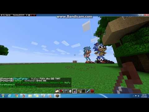 Minecraft 1.7.4 part 8 - SUPER SPEED POTION(Extreme Potion)