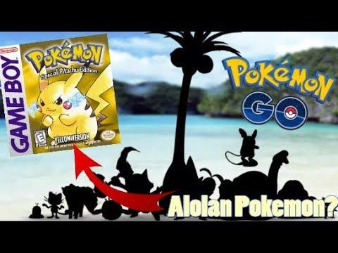 Pokemon Go Alolan Forms Point to a Pokemon Yellow Reboot?