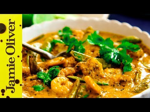 Thai Red Curry with Prawns | Jamie Oliver