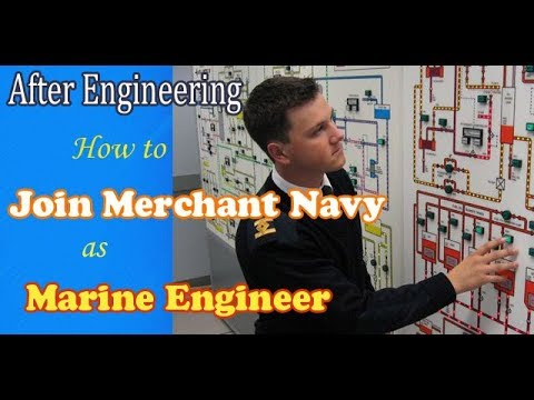 After Engineering how to join Merchant Navy as Engineer(GME) COURSE