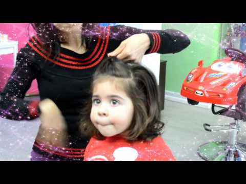 CUTEST Kids Haircut and Spa Experience!!!