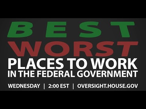 The Best and Worst Places to Work in the Federal Government