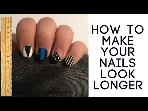 How to: Make your nails look longer!