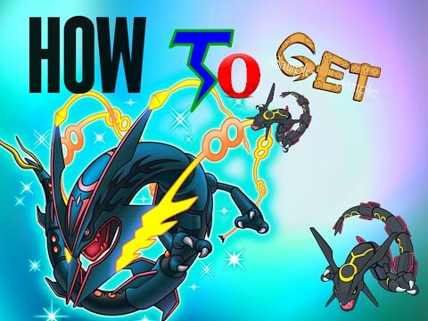 Getting Shiny Rayquaza In Pokemon Omega Ruby Alpha Sapphire