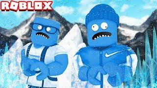 FREEZING TO DEATH IN ROBLOX