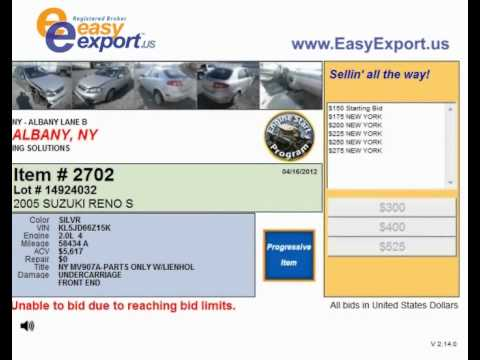 Looking for Car Auctions in Albany NY