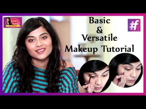 Neutral Eyeshadow Tutorial for Indians   By Mehak
