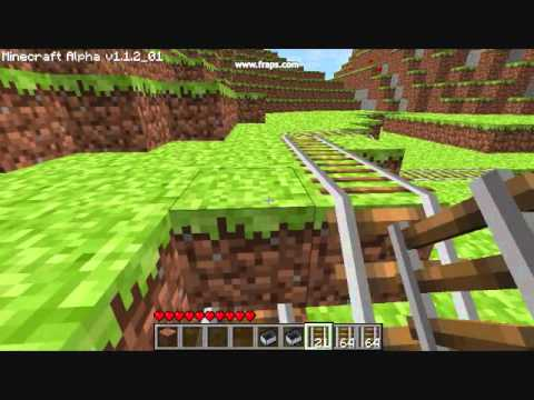 MineCraft Minecart Propulsion Tutorial