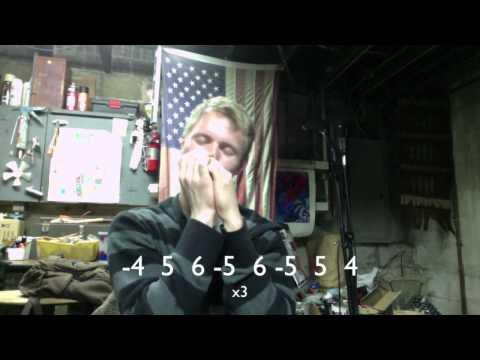 how to play harmonica bob dylan mr tambourine man