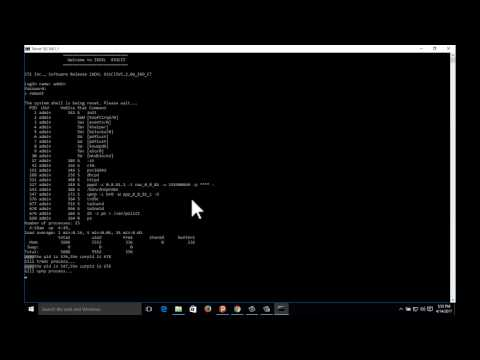 How to Reboot|Reset|Shutdown a Router with Command Prompt
