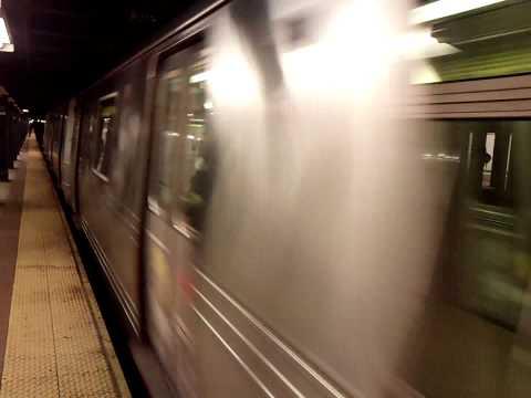 Brooklyn-bound R Train@8th Street-NYU with New Rail Sound