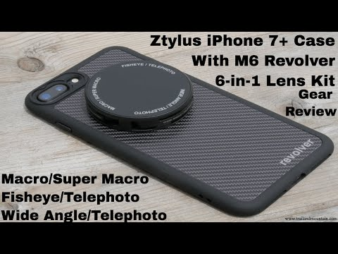 Ztylus iPhone Case & M6 Revolver Lens Kit Review