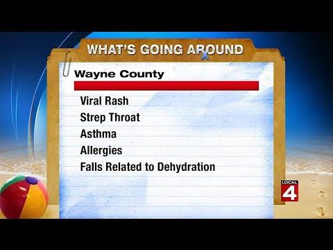What's going around: Viral rash, strep throat, more