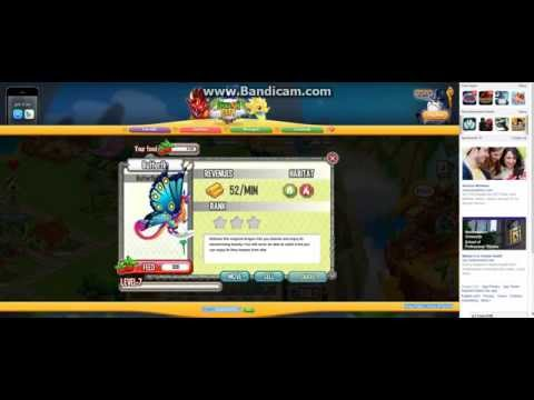 Dragon city How to breed Great White dragon Butterfly dragon and Seahorse dragon