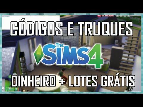 CÓDIGOS E TRUQUES THE SIMS 4 - DINHEIRO + CASAS GRATUITAS