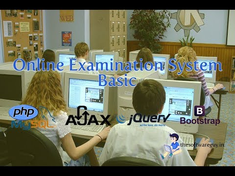Online Examination System Basic with PHP and MySQL