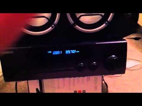 Speaker problem w/ kenwood receiver