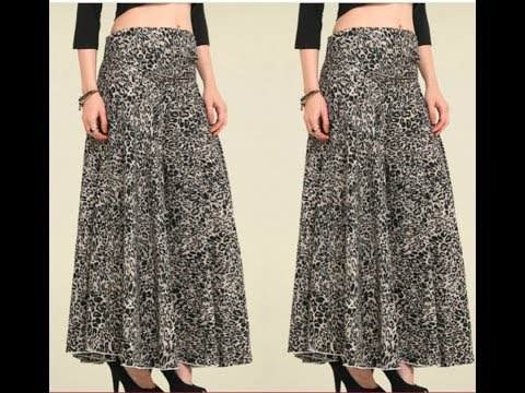 (DIY) CIRCULAR PALAZZO with POCKETS / DIVIDED SKIRT/WIDE LEG TROUSERS (Easiest cutting method)