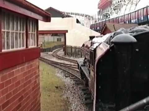 Blackpool Pleasure Beach Railway 1996