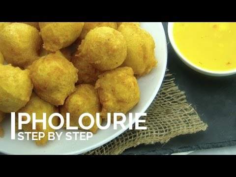 Guyanese Pholourie: Step by step