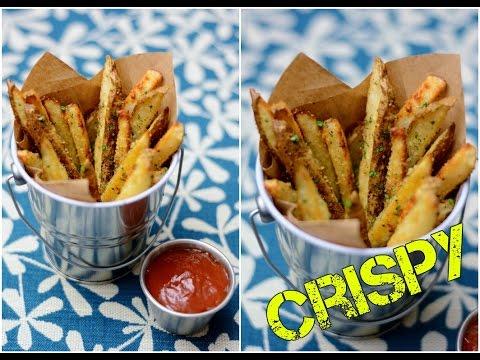 How to make Crispy Potato Wedges. Simple Easy Tasty Snacks. Potato Wedges Recipe. Snacks Recipes