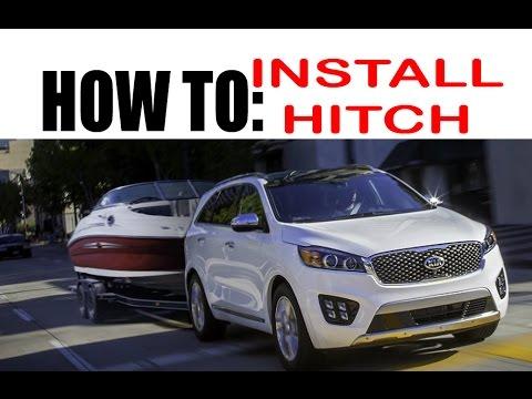 DIY: Kia Sorento / Hyundai Santa Fe Tow Hitch