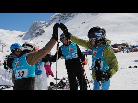 Tignes and La Plagne Dual Slaloms - Ski Club Snowcast 14 February
