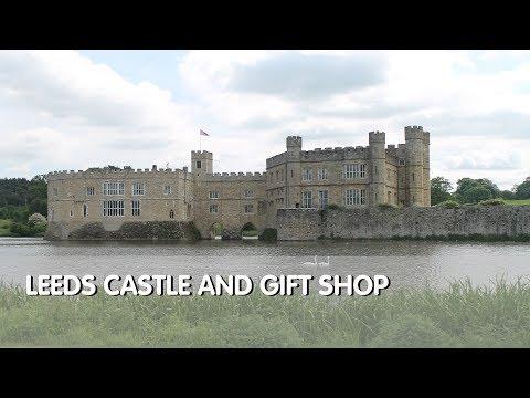 Tour of Leeds Castle & Gift Shop