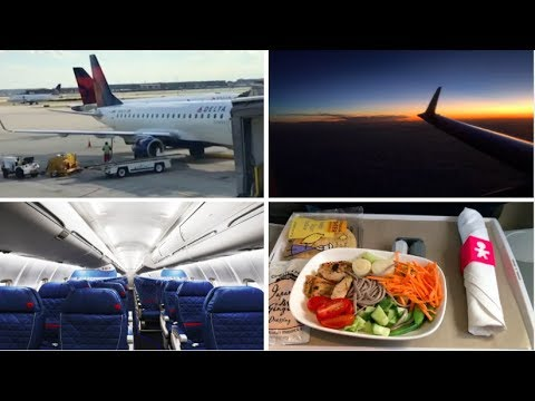 Flight Review Delta Connection Erj-170/175 Business / First Class ORD-LGA (Chicago - New York)