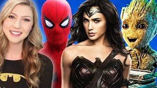 8 Most Anticipated COMIC BOOK MOVIES 2017