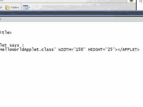 Java Applet - Help me