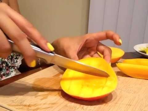 An Educational In-Depth Training on Eating a Mango